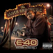 E-40 (Rap): The Block Brochure: Welcome to the Soil, Pt. 1 [PA] [Digipak]