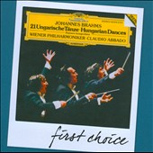 Brahms: 21 Hungarian Dances / Abbado - Vienna PO