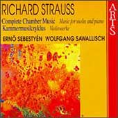 R. Strauss: Complete Chamber Music Vol 5 - Violin Works