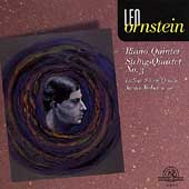 Ornstein: Piano Quintet, String Quartet no 3 / Weber, et al