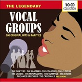 Various Artists: The Legendary Vocal Groups: 200 Original Hits & Rarities