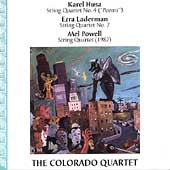Husa, Laderman, Powell: String Quartets / Colorado Quartet