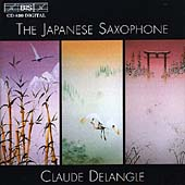 The Japanese Saxophone / Claude Delangle