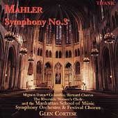 Mahler: Symphony no 3 / Cortese, Dunn, Manhattan School