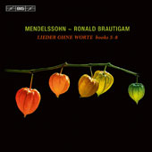 Mendelssohn: Song Without Words, Books 5-8 / Ronald Brautigam, piano