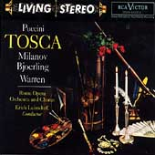 Puccini: Tosca / Leinsdorf, Milanov, Bjoerling, Rome Opera