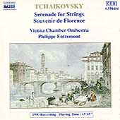 Tchaikovsky: Serenade for Strings, Souvenir / Entremont