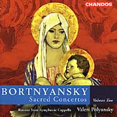 Bortnyansky: Sacred Concertos Vol 2 / Polyansky, et al