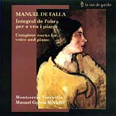Falla: Complete Works for Voice and Piano / Torruella, et al