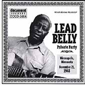 Lead Belly: Private Party November 21, 1948