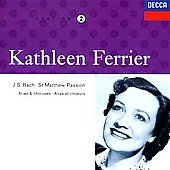 Kathleen Ferrier Edition Vol 2- Bach: St Matthew Passion