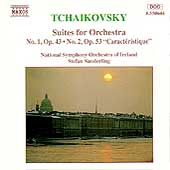 Tchaikovsky: Suites for Orchestra 1 & 2 / Sanderling
