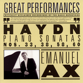 Haydn: Sonatas no 33, 38, 58 & 60 / Emanuel Ax