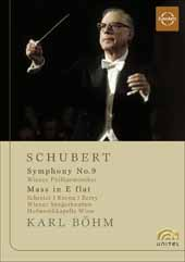 Schubert: Karl Bohm Conducts Schubert / Wiener Philharmoniker [DVD]