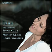 Grieg: Songs Vol 7 / Groop, Vignoles