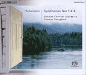 Schumann: Symphony no 3 & 4, etc / Dasgaard, Swedish CO