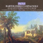 Campagnoli: Six Flute Quartets / Nicola Guidetti, et al