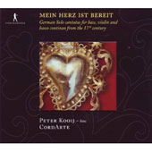 Germnay Solo Cantatas from the 17th century / Mein Herz ist bereit