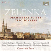 Zelenka: Orchestral Music and Trio Sonatas / Holliger, Bourgue, Tuckwell, Camerata Bern