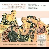 Canzonen und T&auml;nze des Fr&uuml;hbarock / Susanne Ehrhardt, et al