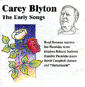 The Early Songs Of Carey Blyton