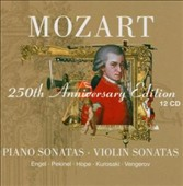 Mozart 250th Anniversary Edition: Piano Sonatas, Violin Sonatas
