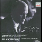 Tchaikovsky, Prokofiev, Bach: Piano Concertos