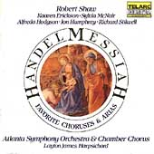 Handel: Messiah Highlights / Shaw, Atlanta Symphony Orch