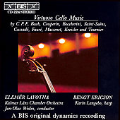 Virtuoso Cello Music / Elemér Lavotha, Bengt Ericson
