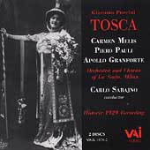 Puccini: Tosca / Sabajno, Melis, Pauli, Granforte, et al