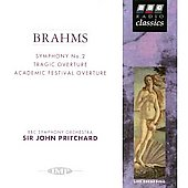 Brahms: Symphony no 2, Tragic Overture, etc / Pritchard