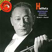 Heifetz - Beethoven, Brahms: Concertos / Munch, Reiner