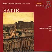 Satie: Complete Works for Piano 4 Hands / Duo Campion-Vachon