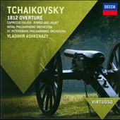 Tchaikovsky: 1812 Overture; Capriccio Italien; Romeo & Juliet / Royal PO; St. Petersburg PO, Ashkenazy