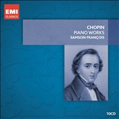 Chopin: Piano Works / Samson Francois [10 CDs]