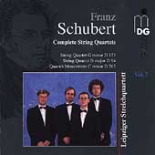 Schubert: Complete String Quartets Vol 7 / Leipzig Quartet