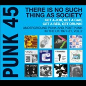 Various Artists: Punk 45, Vol. 2: Underground Punk and Post Punk in the UK, 1977-1981