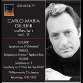 Carlo Maria Giulini Collection, Vol. 2 - Schubert: Symphony No. 8; Franck: Symphony in D minor; Dvorak: Symphonies Nos. 8 & 9 (rec. 1957-62)