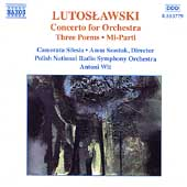 Lutoslawski: Orchestral Works Vol 5 / Wit, Polish RSO