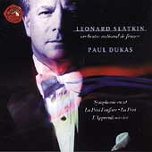 Dukas: Symphonie en ut, etc / Slatkin, National de France