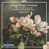 Telemann: The Grand Concertos for Mixed Instruments, Vol. 2 / La Stagione Frankfurt; Michael Schneider