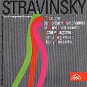 Stravinsky: L'Histoire du Soldat, etc / Krautgartner, et al