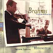 Rubinstein Collection Vol 41 - Brahms: Violin Sonatas