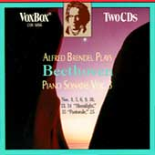 Alfred Brendel plays Beethoven Piano Sonatas, Vol III