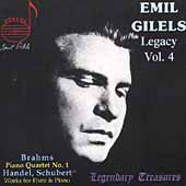 Legendary Treasures - Emil Gilels Legacy Vol 4