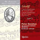 The Romantic Piano Concerto Vol 26 - Litolff /Donohoe, et al