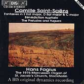 Saint-Sa&#235;ns: Organ Music / Hans Fagius