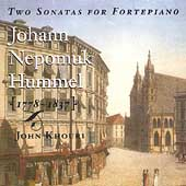 Hummel: Two Sonatas for Fortepiano / John Khouri