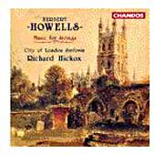 Howells: Music for Strings / Hickox, City of London Sinfonia