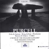 Purcell: Dido & Aeneas, King Arthur, Dioclesian, etc/Pinnock